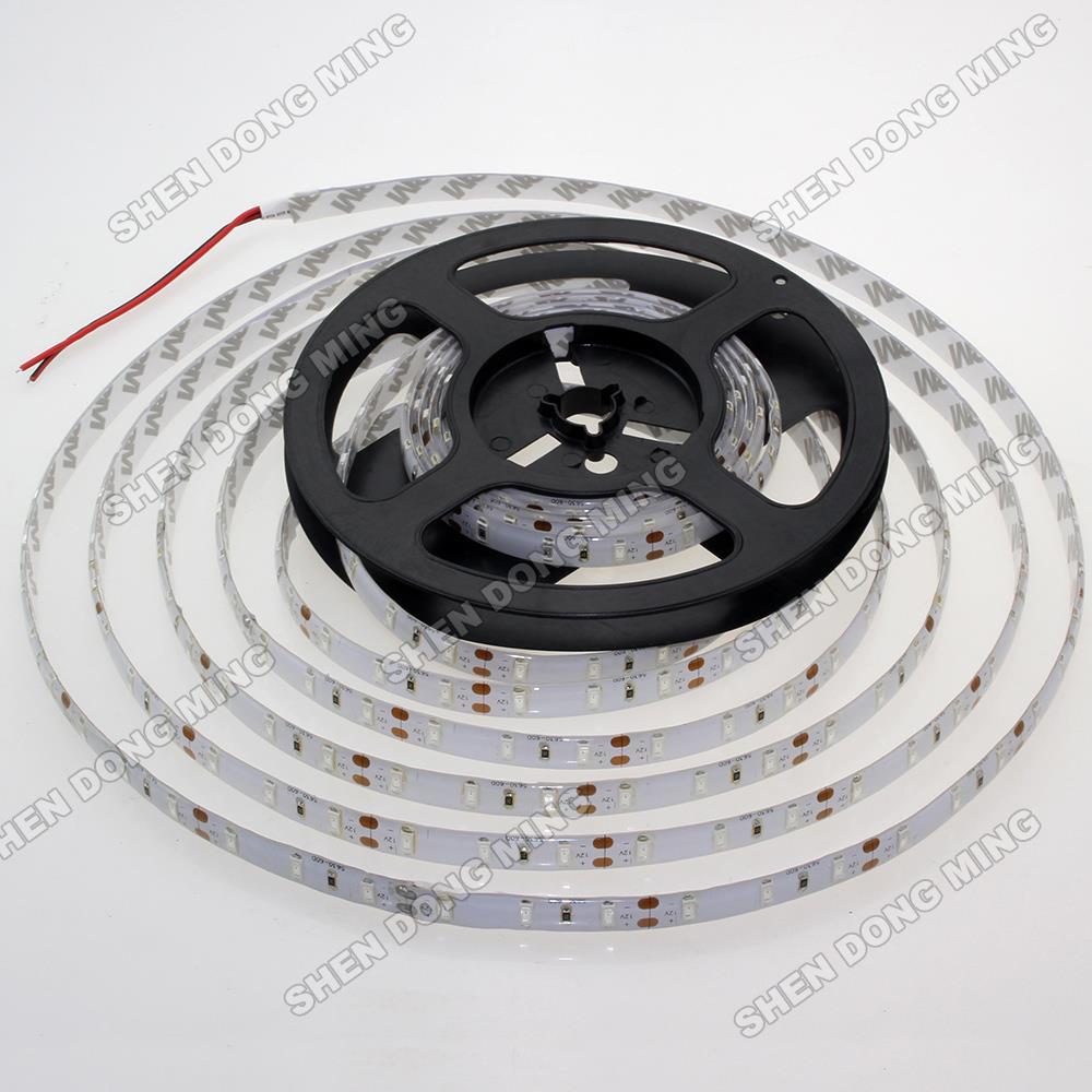 10M Red/blue/green Waterproof led strip 5630 SMD Water proof IP65 led ribbon DC12V 60Leds/m 14.4w/m flexible led light(China (Mainland))