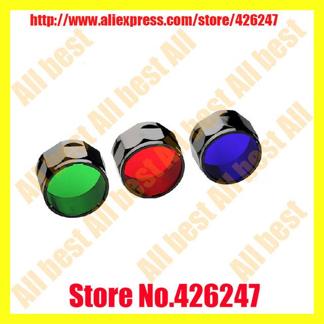 Fenix aof - s filtre torche adaptateur rvb rouge bleu vert 3 couleurs diffuseur ajustement pour Fenix pd22, Ld10, Ld12, Ld22 livraison gratuite
