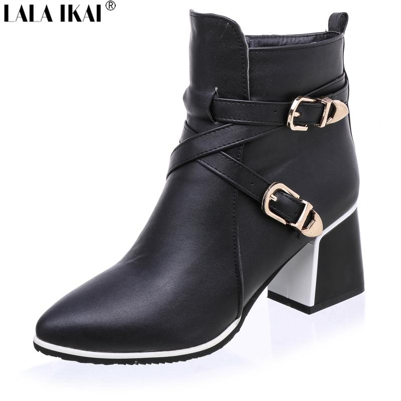 Fantastic  High Heel Design Ankle Boots For Women BLACK In Boots  DressLilycom