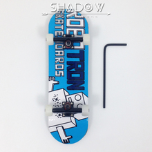 2015 New Professional Wooden finger skateboard with adjustment tool Canada 7 layer maple fingerboard(China (Mainland))