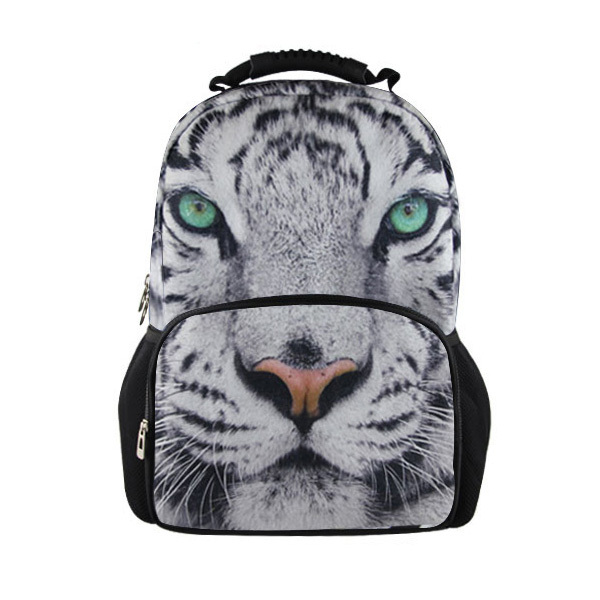 Bigger Size Felt Animal Shaped Children School Bags Teenager Boys Dinosaur Tiger Double Shoulder Schoolbag Kids