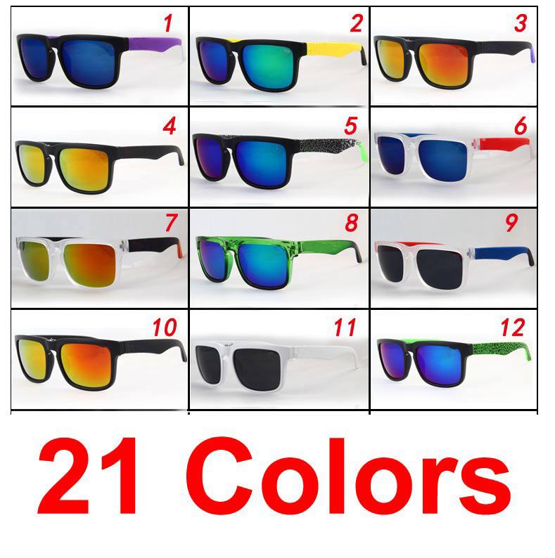 Free shipping fashion wayfarer man women + brand eyewear cycling sport glasses helm ken block sunglasses 21 color(China (Mainland))