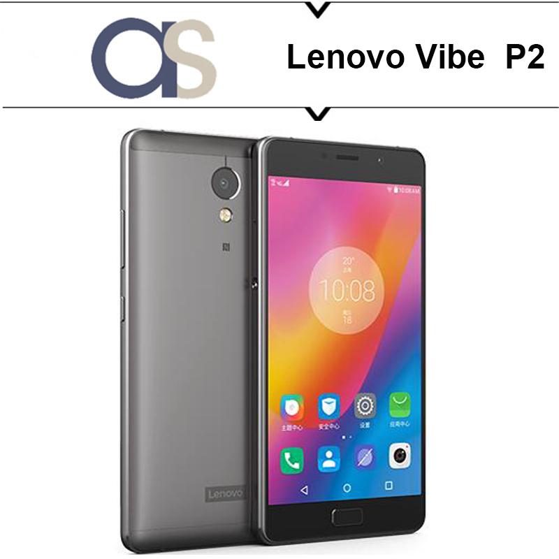 Original Lenovo Vibe P2 Cell Phone Android 6.0 Octa Core 2.5GHz 4G RAM 64G ROM 5.5'' Supper AMOLED 13MP camera 5100Mah battery(China (Mainland))