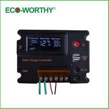Buy ECO-WORTHY 10A LCD Solar Panel Light Controller Battery Regulator Charge 3A 5V 12V Solar Charger Controller Solar Lighting for $22.54 in AliExpress store