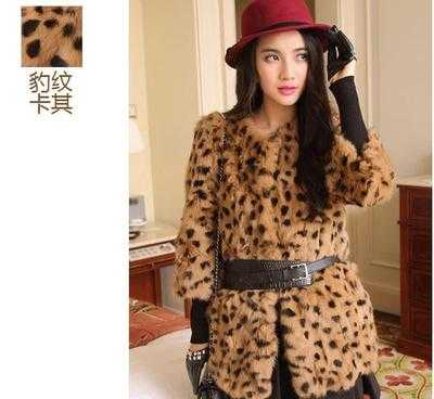Luxury Winter Women Coat Fur Coat Woman Faux Fur Leopard Coats Fashion Warm Outwear Casaco De Pele Plus Size H6291Одежда и ак�е��уары<br><br><br>Aliexpress