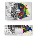 Hot Sale Laptop Left Right Brain Skin for Macbook Sticker Front Keyboard Rest Wrist Pad Vinyl