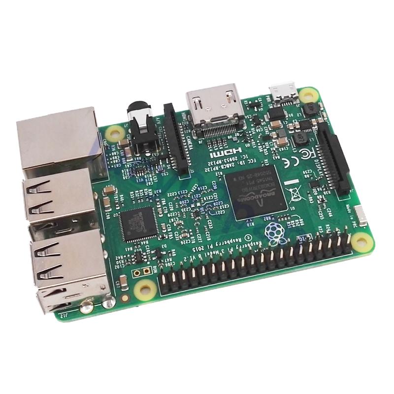 New 2016 Raspberry Pi 3 Model B Board Module,1GB DDR2 BCM2837 QuadCore Ras PI3 B,PI 3B,PI 3 B,WiFi & Bluetooth,Element14 Version(China (Mainland))