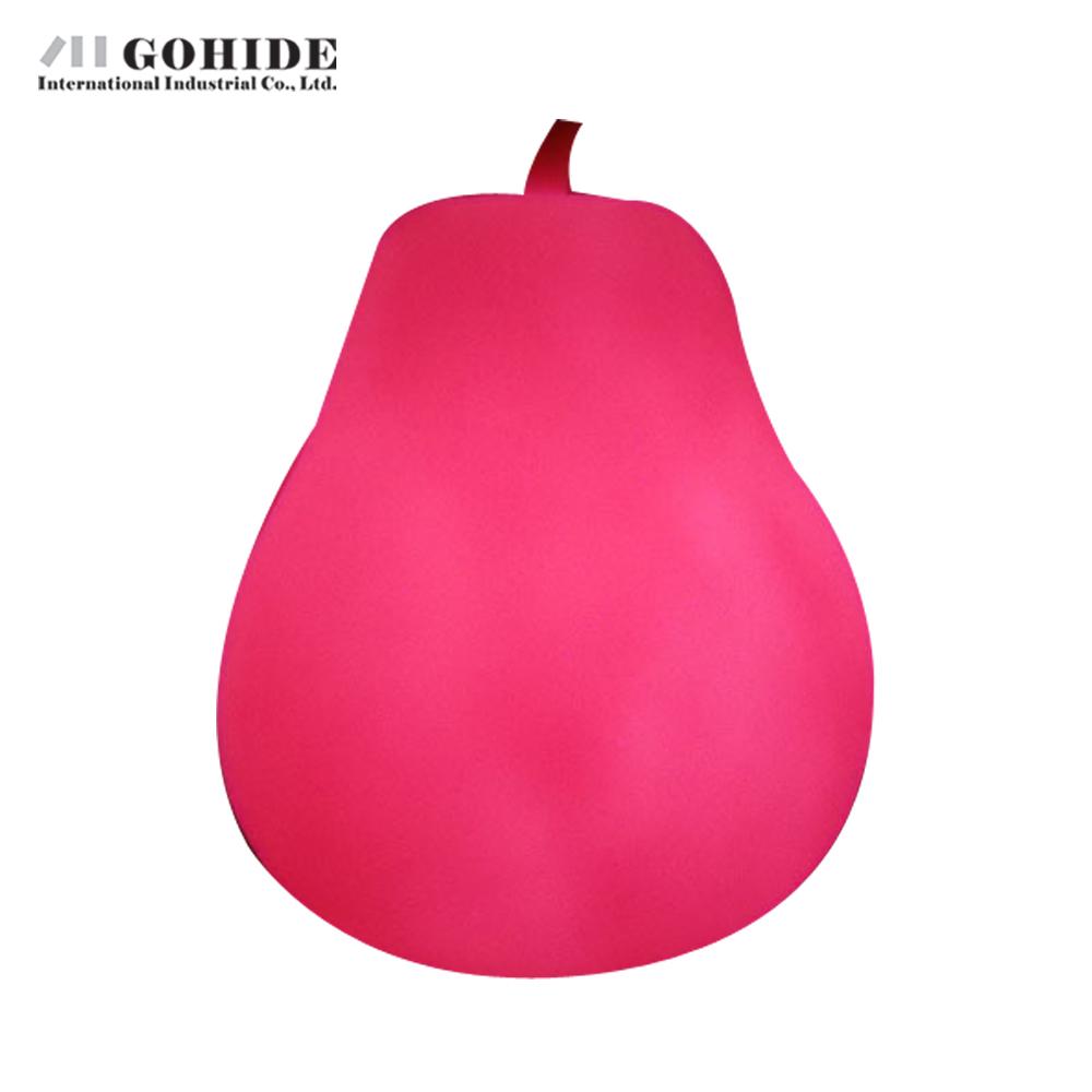 Gohide 1PCS Colorful Nightlight Pear Fruit Light Colorful Nightlight Pear Lamp Indoor Lighting Festival Decorative Lamp(China (Mainland))