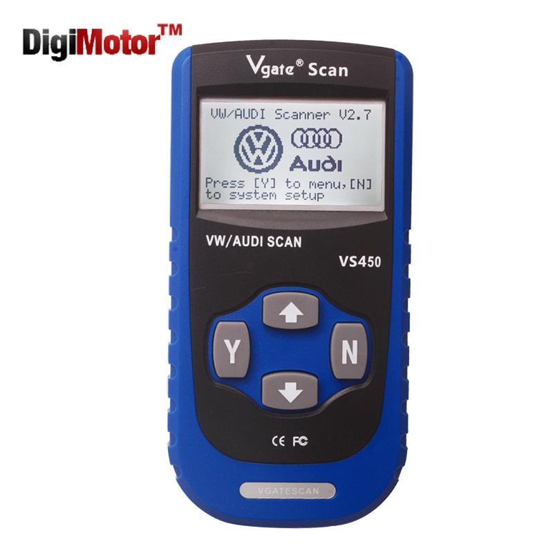 2016 New Vgate Scan VS450 VW VAG Scanner OBD2 Diagnostic Tool Scaner ...