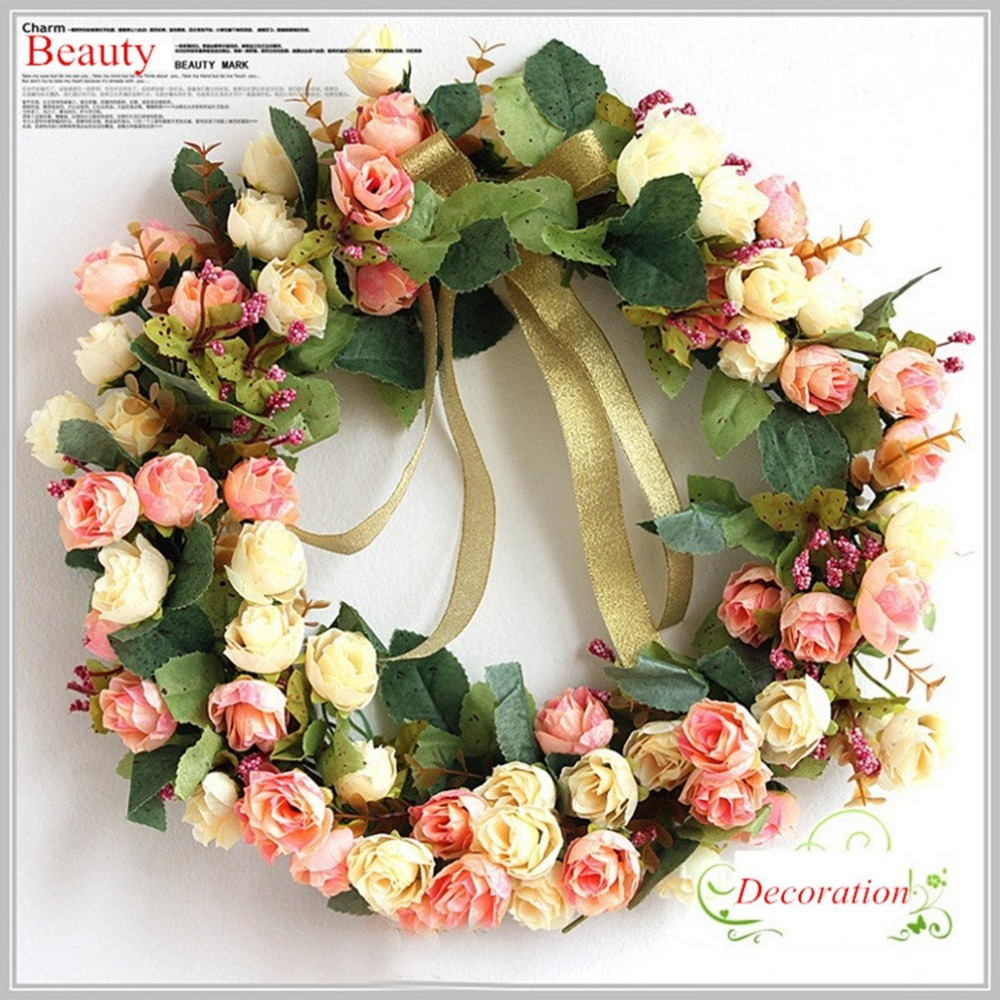 Itemship Decorative Wreaths Home Decoration Accessory For
