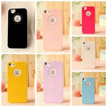 Cute candy Color Loving Heart Flower Lace Hard Plastic Phone Case Cover For iphone 6 6S Plus Phone Cases For iphone 6 6S 4.7inch
