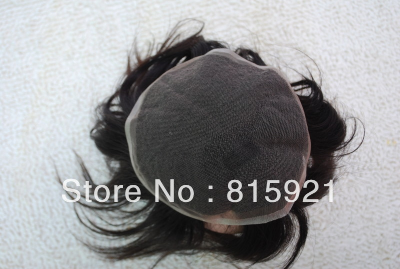 Quality Virgin Indian Human Hair Swiss Lace Toupee - EJS Shop store