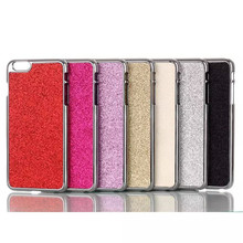 Plastic Plating Bling Shiny Glitter Hard case Cover For Apple iPhone 6 4.7 inch 6s Plus 5.5 inch . Mobile Phone Cases