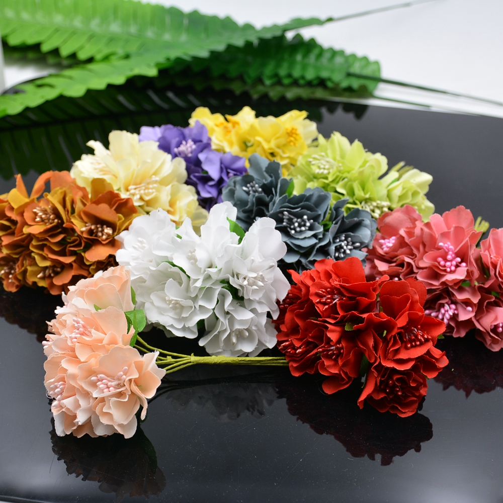 buy wholesale 60pcs 4cm silk chrysanthemum bride artificial flowers for wedding. Black Bedroom Furniture Sets. Home Design Ideas