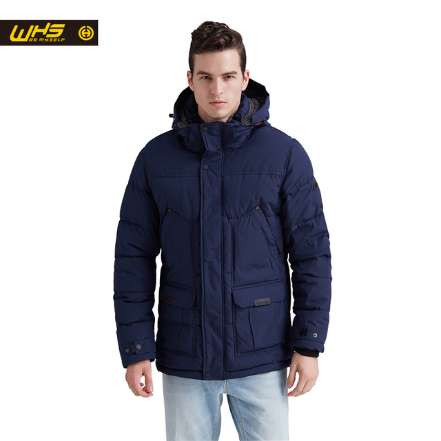 WHS NEW Men cotton jacket in winter thick warm coats male thermal jackets windproof suit breathable clothes