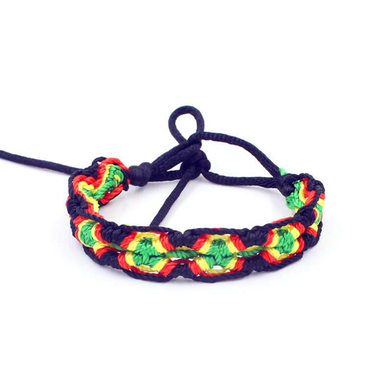 Fashion jewelry Weave rope string friendship bracelets embroidery handmade bracelets for women(China (Mainland))