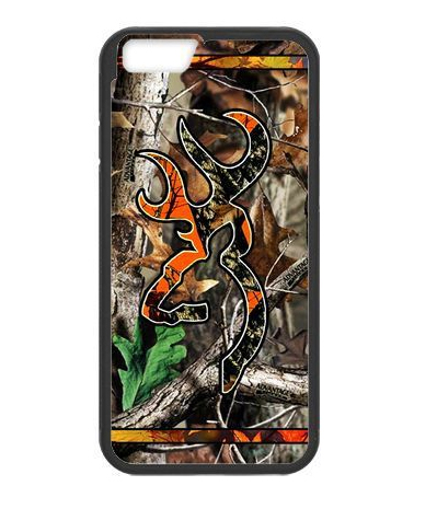 Camo Browning Deer Logo cover case for Huawei Ascend p6 p7 p8 lite p9 lite Honor 3C 4X 6 7 Mate 7 8(China (Mainland))