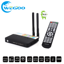 Buy CSA93 Android TV Box Amlogic S912 Octa core Cortex-A53 2G/16G Android 6.0 TV Box WiFi BT4.0 2.4G/5.8G H.265 2K*4K media Player for $67.14 in AliExpress store