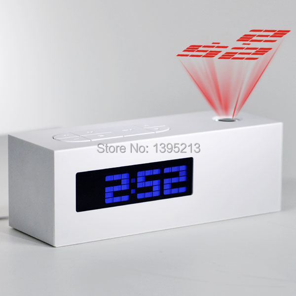 calendar color picture more detailed picture about 2014 new laser projecting alarm clock. Black Bedroom Furniture Sets. Home Design Ideas