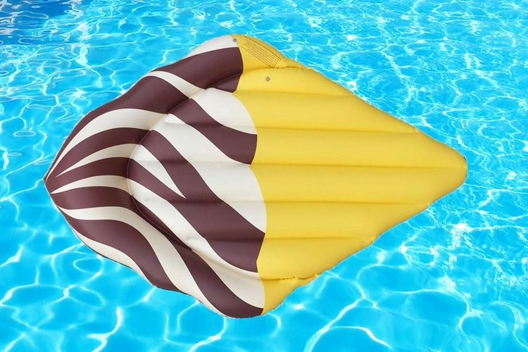 """""""Ice cream"""" Inflatable Mattress 180*150CM Floating Sunbathe Mat Pool Air Pad Buoy Swimming Accessories Party Toys"""