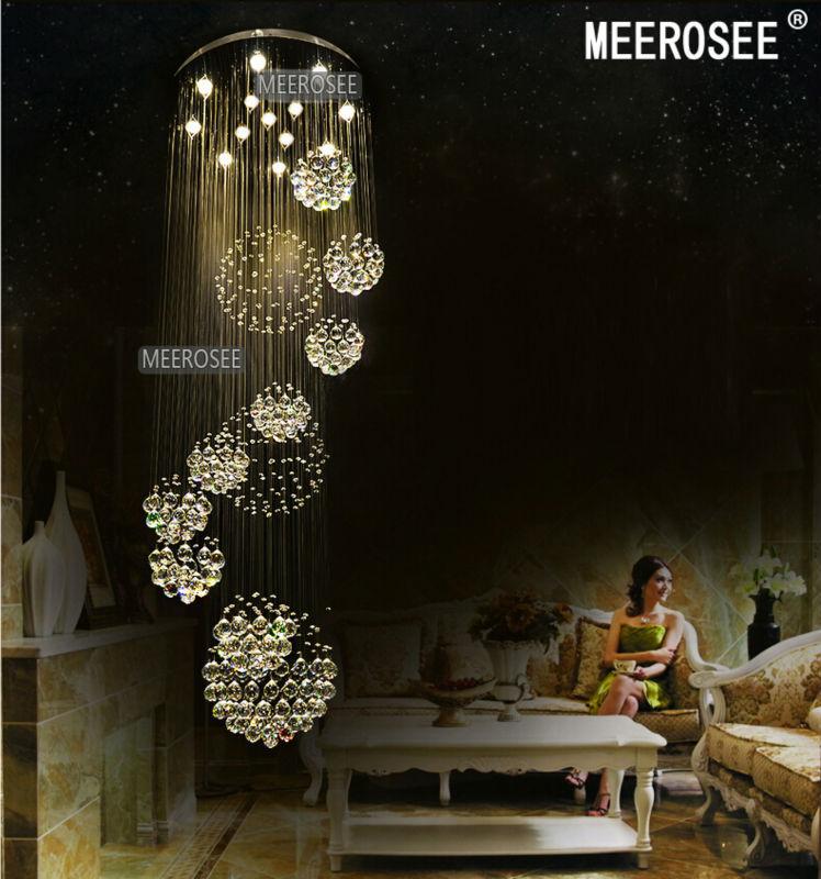 Buy Foyer Chandelier : Aliexpress buy modern large crystal chandelier light