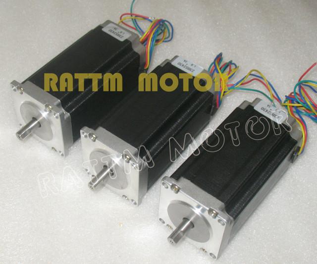 Buy 3 pcs nema23 425 oz in cnc stepper for Stepper motor holding torque calculator