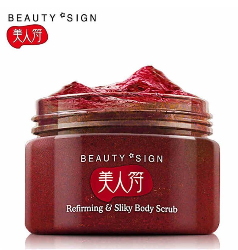 Meirenfu Strawberry Exfoliating Body Scrub skin and whitening scrub body care 120g C123