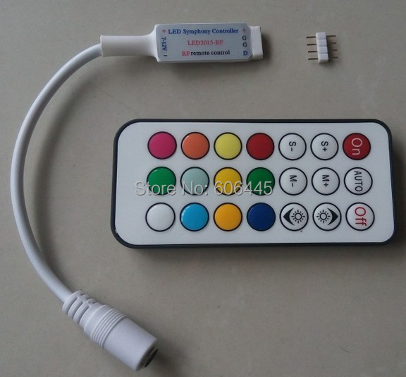 RF remote control pixel digital dream color mini led controller ws2811 ws2812 ws2812b - Shenzhen Supa Tech Corp store