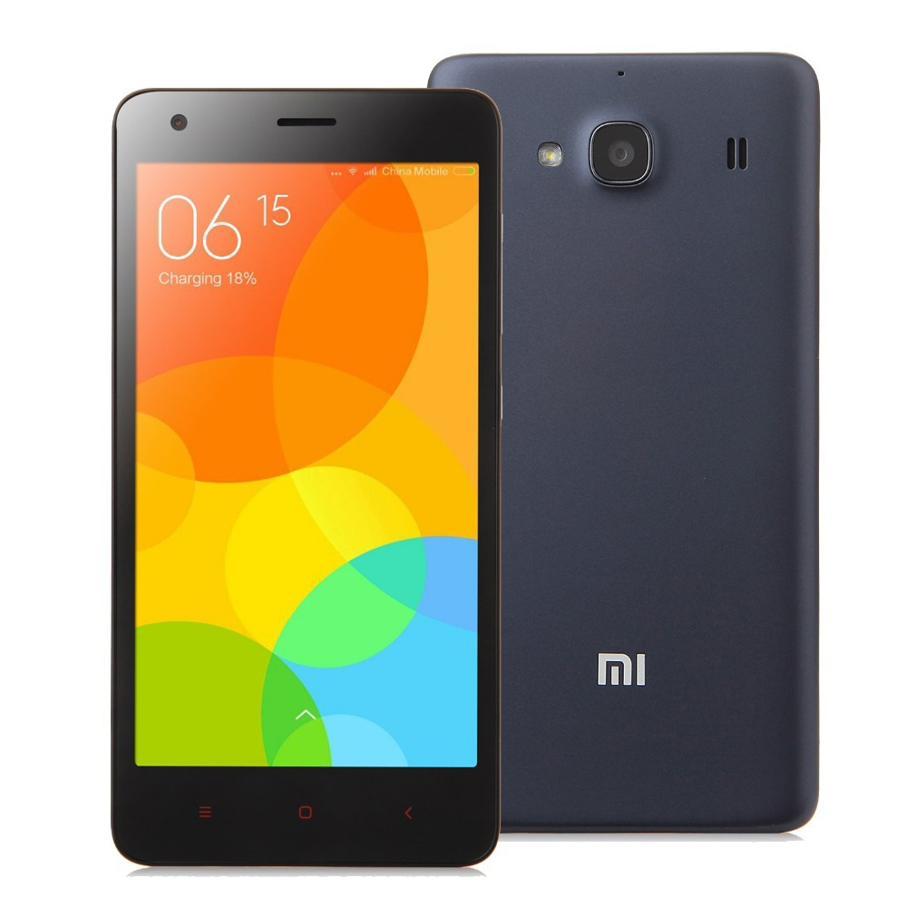 "Original Hongmi 2 Quad Core 4.7"" 1280x720 Xiaomi Redmi 2 4G FDD LTE 1GB RAM 8GB ROM 8MP Dual SIM Cell Phones(China (Mainland))"