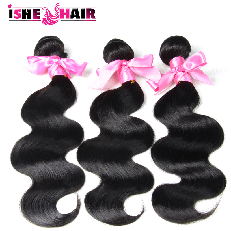 5A Brazilian Virgin Hair Body Wave Brazilian Human Hair Weave 3 Bundles Unprocessed virgin Brazilian Body Wave Hair