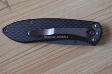 BUCK 327 NOBLEMAN CARBON FIBRE ourdoor sports multifunction knife camping survival folding Knives