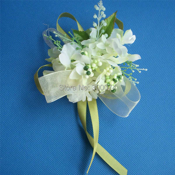 Wedding Flower Boutonniere For The Groom Artificial Silk ...