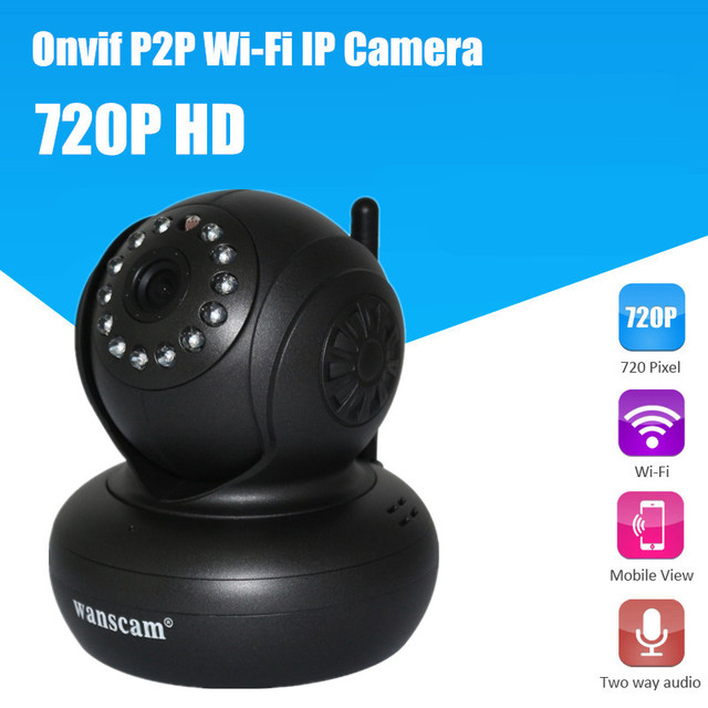 1280*720P HD Hi3518E ONVIF Wifi Camera Android Dual Audio Night Vision Indoor Home Security Camera Wifi Windows 10