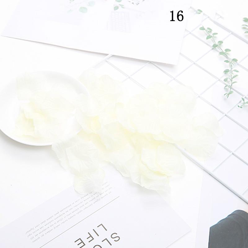 Czy вечерние 100 штук свободного нетканого полотна ручной бросок цветы разброс undefined