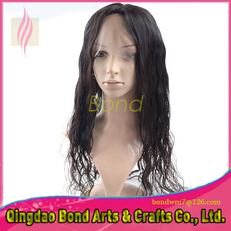 NEW Fashion Curly Lace Wig Top Quality Unprocessed Human Hair Virgin Brazilian Curly Wigs Glueless Full Lace Wigs <br><br>Aliexpress