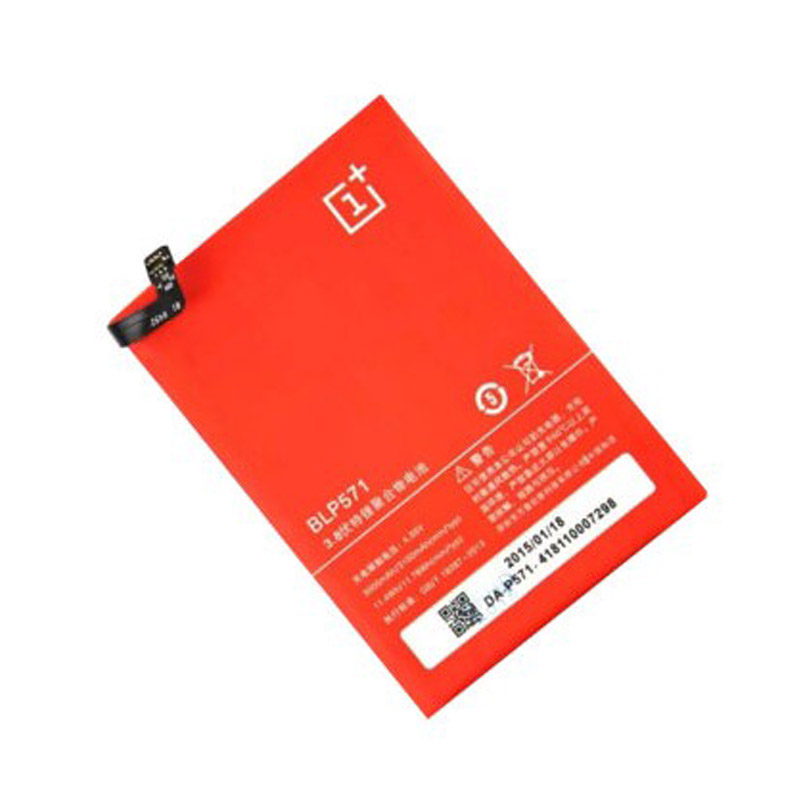 100%  Original Oneplus Mobile Phone Battery BLP571 For OPPO One Plus 64GB 16GB High Capacity 3000mAh Replacement Batteria