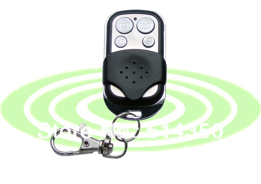 433MHz/315MHz Metal Wireless Remote Control key Home Alarm Systems - AG-Security Flagship store