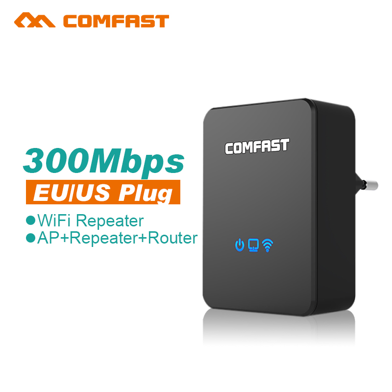 Comfast Home 300Mbps Wireless Wifi Repeater Router 802.11 AP Access Point Bridge Mini Wi Fi Range Router Amplifier Extender wifi(China (Mainland))