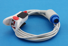 Buy Adult Finger Clip SpO2 Sensor Pulse Oximetry Probe Mindray PM 5000, PM 6000, PM 8000, Blue 12pin for $30.00 in AliExpress store