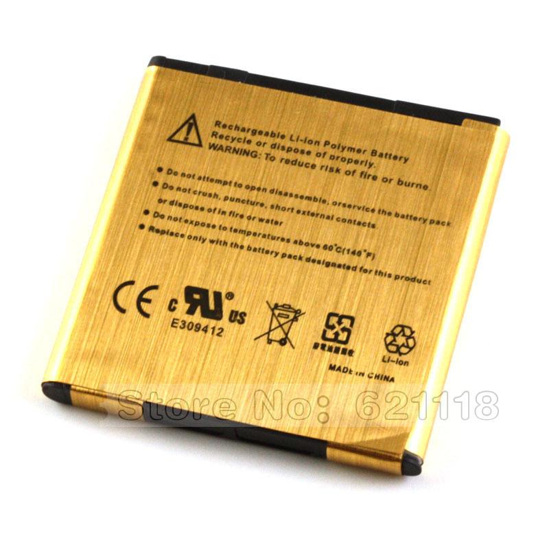 Gold Battery Batteries For HTC EVO 3D G14 X515m G17 G21 G22 Sensation XE XL Z715e