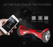 Bluetooth hoverboard балансируя Электрический 8 дюймов скутер с ul аккумулятор Smart 2 колеса совета баланса одноколесном велосипеде hover доска