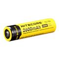 Original Nitecore 18650 NL186 2600mAh 3 7v 9 6Wh Protected PCB High discharge performance Li ion