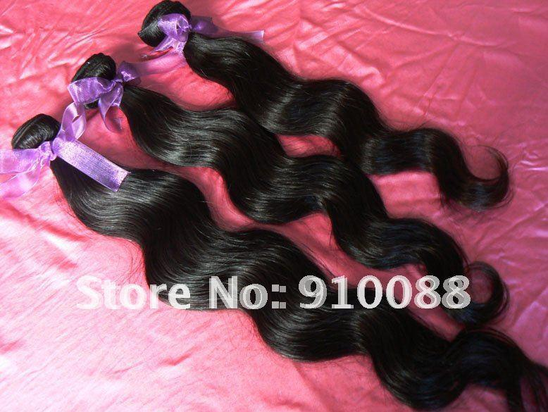 16''/18''/20'' Body Wave Free Shipping Brazilian Virgin Hair No Tangle Min Shedding Life-Long Virgin