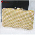 New Women s Banquet Clutch Luxury Sided Full Diamond Evening Bag Rhinestone Bowknot Wedding Party Handbag