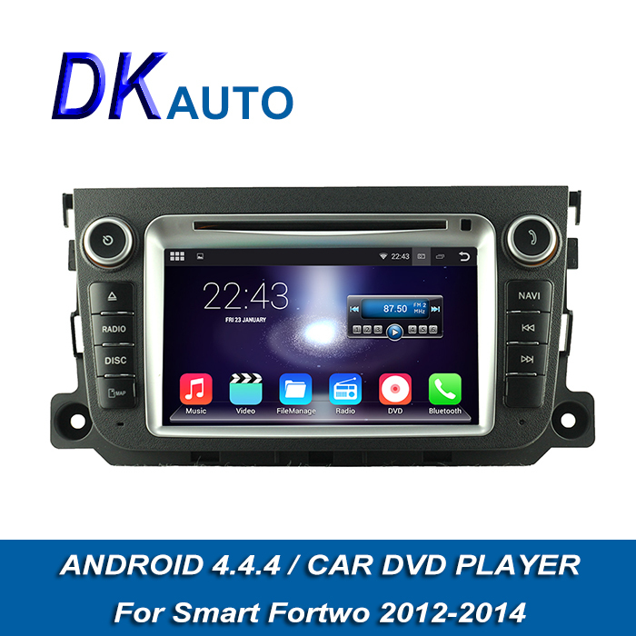 """Car Audio Player 2 Din 7"""" For Mercedes Benz Smart Fortwo 2014-2014 GPS Navigation HD1024*600 Touch Screen FM Wifi SWC Music DVBT(China (Mainland))"""