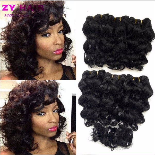 Summer New 8 inch Deep wave Tissage Bresilienne Queen Weave Beauty Deep Curly Short Hair With Closure West Kiss Virginhair Deals