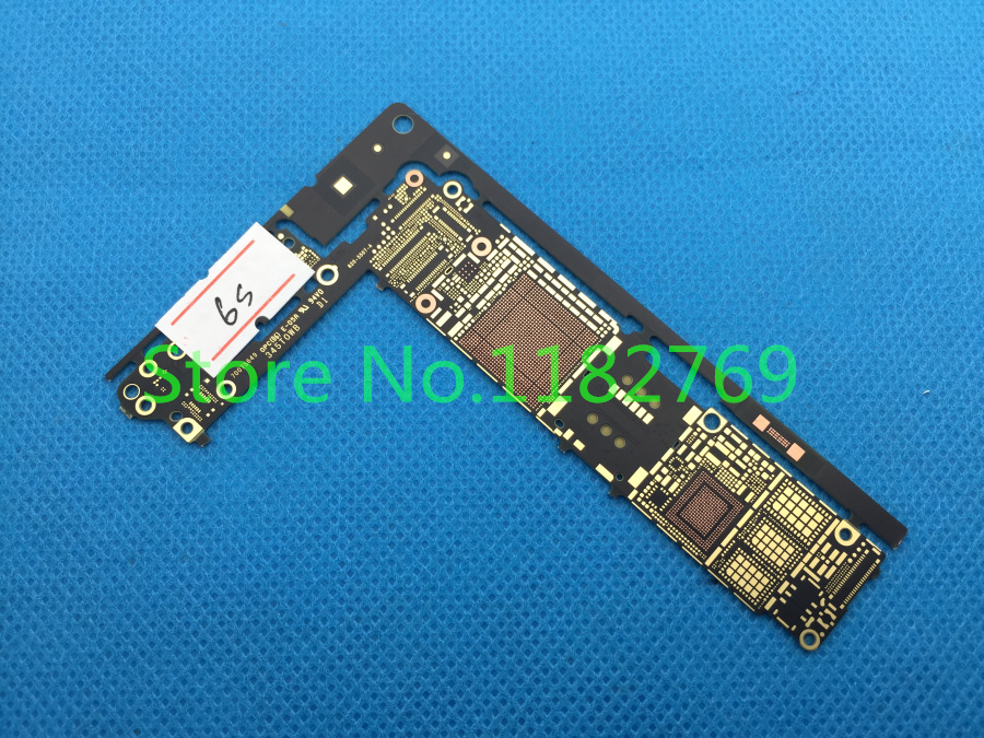 10pcs/lot New Motherboard Main Logic Bare Board For iPhone 6S 6GS 4.7 inch Repair circuit test free shipping(China (Mainland))