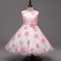 children s formal wedding dresses girl party dress 2 9 year princess floral gown dress tutu