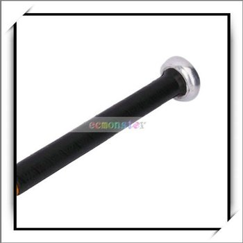 Free Shipping,28 Inch Aluminum Alloy Rubber Grip Baseball Bat Yellow,Good and High Quality,T00368