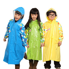Burberry eco-friendly child ponchos raincoat boys girls parent-child set student school bag long rain coat chubasquero winter